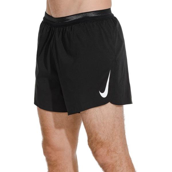 ナイキ メンズ カジュアルパンツ ボトムス Nike Men's AeroSwift 5'' Running Shorts Black/White