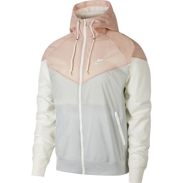 ナイキ メンズ ジャケット&ブルゾン アウター Nike Men's Sportswear 2019 Hooded Windrunner Jacket (Regular and Big & Tall) LtSmokeGrey