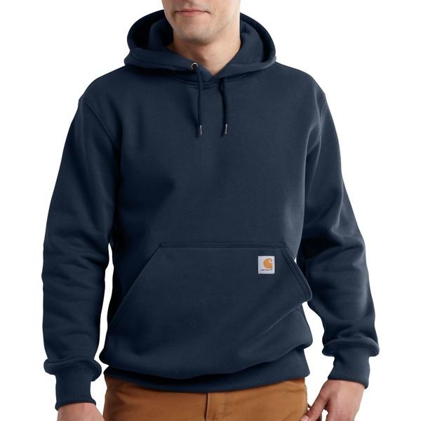 カーハート メンズ パーカー・スウェットシャツ アウター Carhartt Men's Paxton Heavyweight Hooded Sweatshirt (Regular and Big & Tall) NewNavy