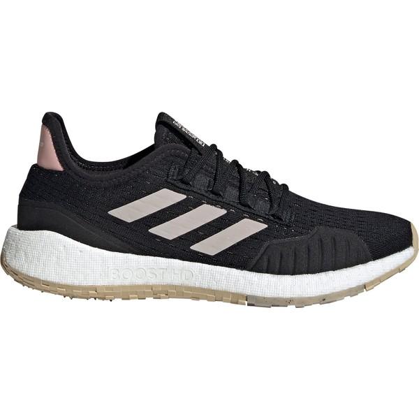 アディダス レディース ランニング スポーツ adidas Women's Pulseboost HD Running Shoes Black/Pink
