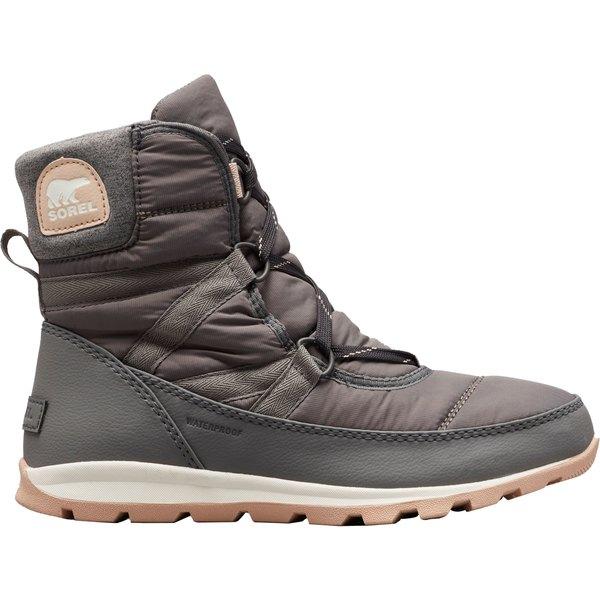 ソレル レディース ブーツ&レインブーツ シューズ SOREL Women's Whitney Short Lace 200g Waterproof Winter Boots Quarry