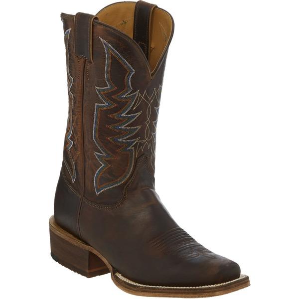 ジャスティンブーツ メンズ ブーツ&レインブーツ シューズ Justin Men's Navigator Cognac Western Boots Cognac
