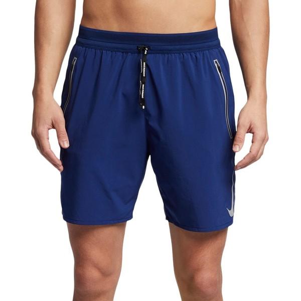 ナイキ メンズ カジュアルパンツ ボトムス Nike Men's Flex Swift Shorts BlueVoid/ReflectiveSilv