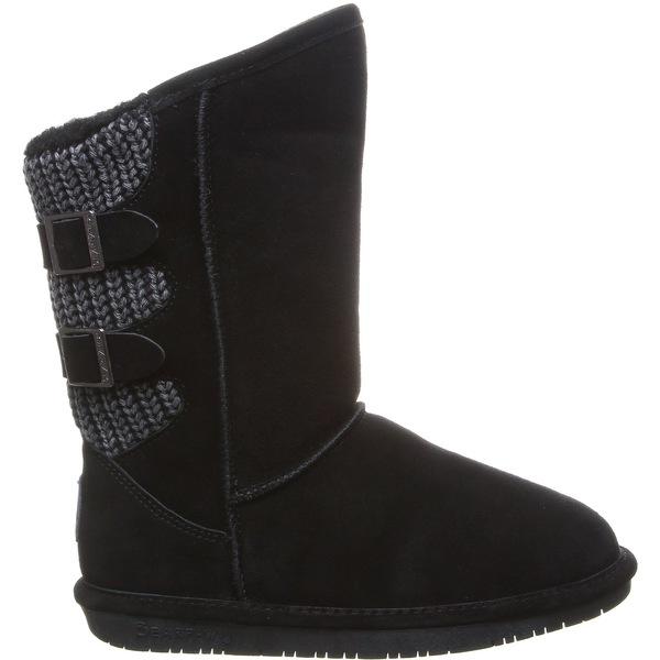 ベアパウ レディース ブーツ&レインブーツ シューズ BEARPAW Women's Boshie Sheepskin Boots Black