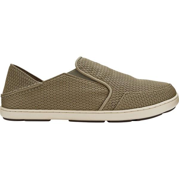 オルカイ メンズ スニーカー シューズ OluKai Men's Nohea Mesh Slip-On Shoes Clay