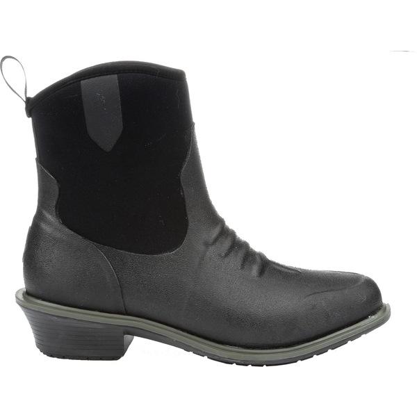 ムックブーツ レディース ブーツ&レインブーツ シューズ Muck Boots Women's Juliet Waterproof Riding Boots Black