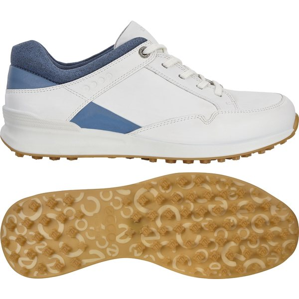 エコー レディース ゴルフ スポーツ ECCO Women's Street Retro Golf Shoes White/Blue