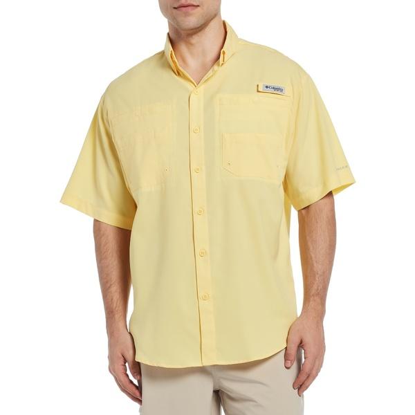 コロンビア メンズ シャツ トップス Columbia Men's Tamiami II Shirt (Regular and Big & Tall) Sunlit