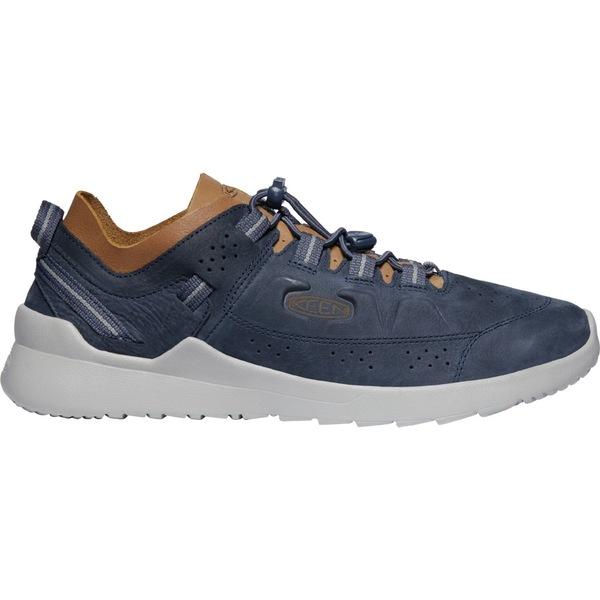 キーン メンズ スニーカー シューズ KEEN Men's Highland Casual Shoes BlueNights