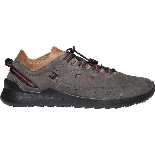 キーン メンズ スニーカー シューズ KEEN Men's Highland Casual Shoes SteelGrey/Black