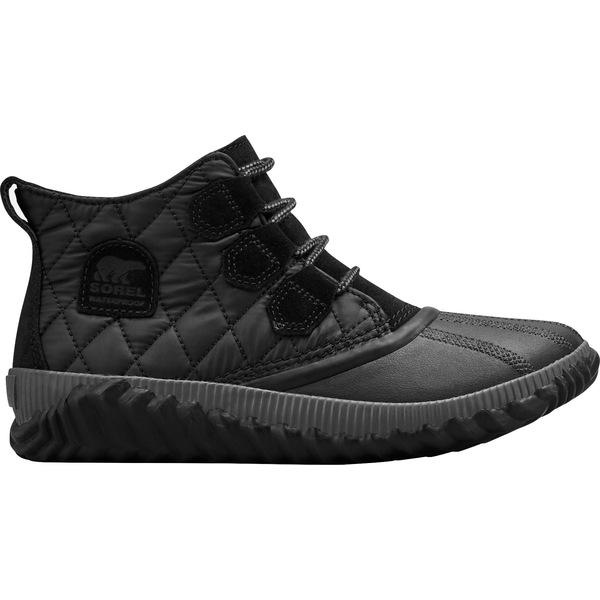 ソレル レディース ブーツ&レインブーツ シューズ SOREL Out N About Plus Waterproof Winter Boots Black