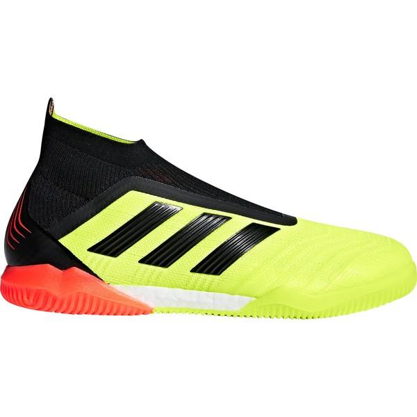 アディダス メンズ サッカー スポーツ adidas Men's Predator 18+ Indoor Soccer Shoes SolarYellow/Black/SolarRed