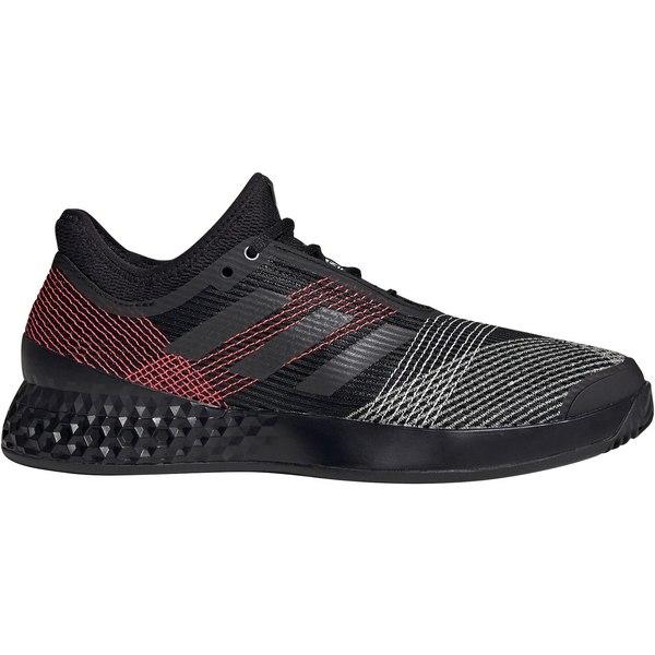 アディダス メンズ テニス スポーツ adidas adizero Men's Ubersonic 3.0 Tennis Shoes Black/Pink