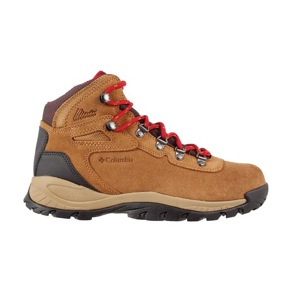 コロンビア レディース ブーツ&レインブーツ シューズ Columbia Women's Newton Ridge Plus Amped Waterproof Hiking Boots Elk