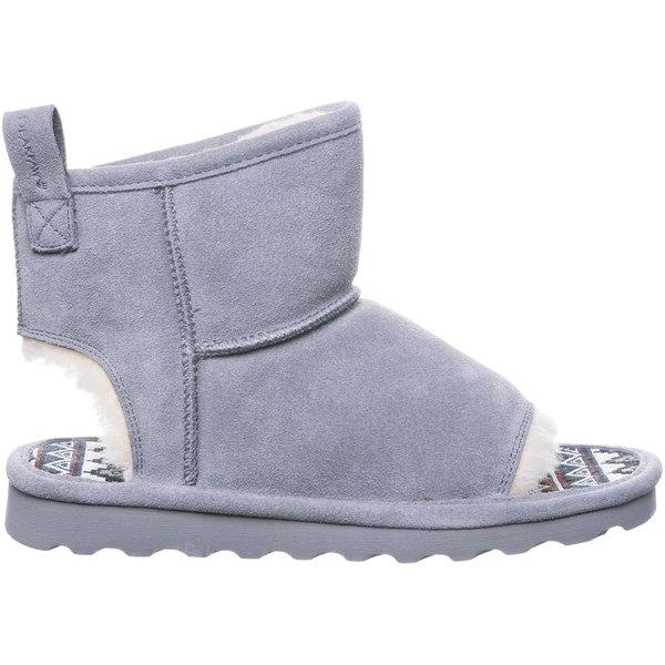 ベアパウ レディース ブーツ&レインブーツ シューズ BEARPAW Women's Molly Sheepskin Boots Gray