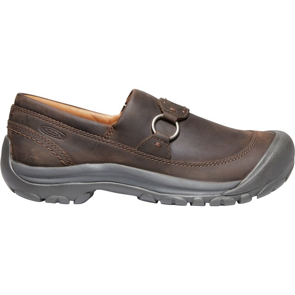 キーン レディース スニーカー シューズ KEEN Women's Kaci II Slip-On Shoes DarkEarth/Canteen