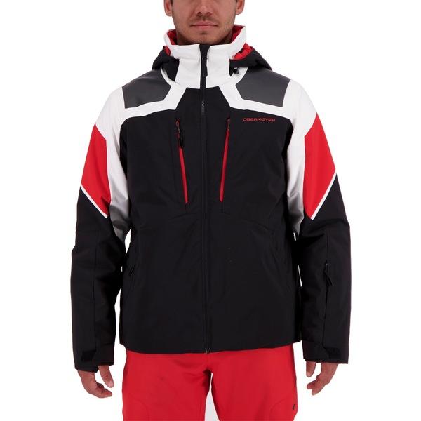オバマイヤー メンズ ジャケット&ブルゾン アウター Obermeyer Men's Foundation Jacket White