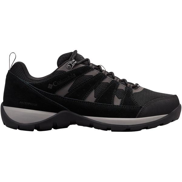コロンビア メンズ ブーツ&レインブーツ シューズ Columbia Men's Redmond V2 Waterproof Hiking Shoes Black/DarkGrey