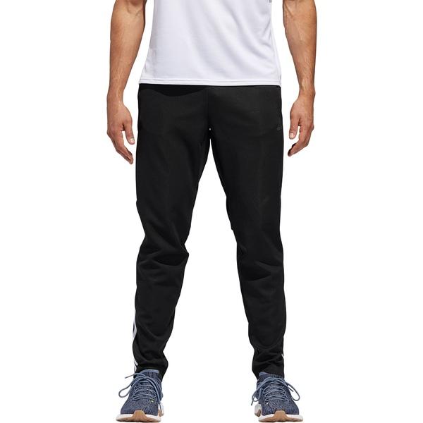 アディダス メンズ カジュアルパンツ ボトムス adidas Men's Run Astro 3-Stripes Tights Black/White