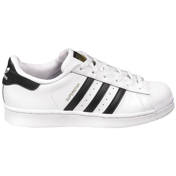アディダス レディース スニーカー シューズ adidas Originals Women's Superstar Shoes White/Black