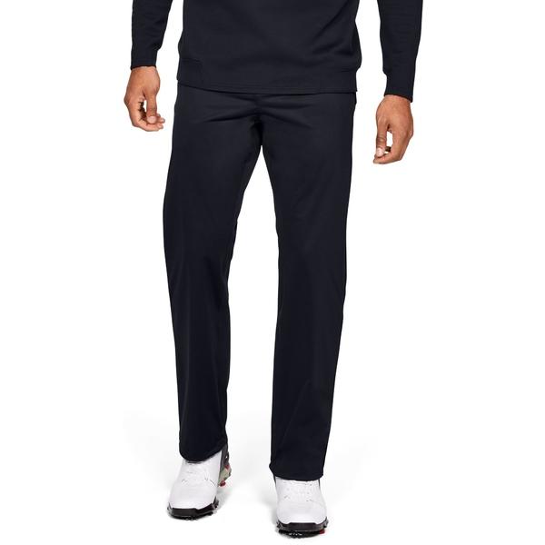 アンダーアーマー メンズ カジュアルパンツ ボトムス Under Armour Men's Storm Golf Rain Pants Black