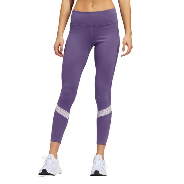 アディダス レディース カジュアルパンツ ボトムス adidas Women's How We Do Tights Purple