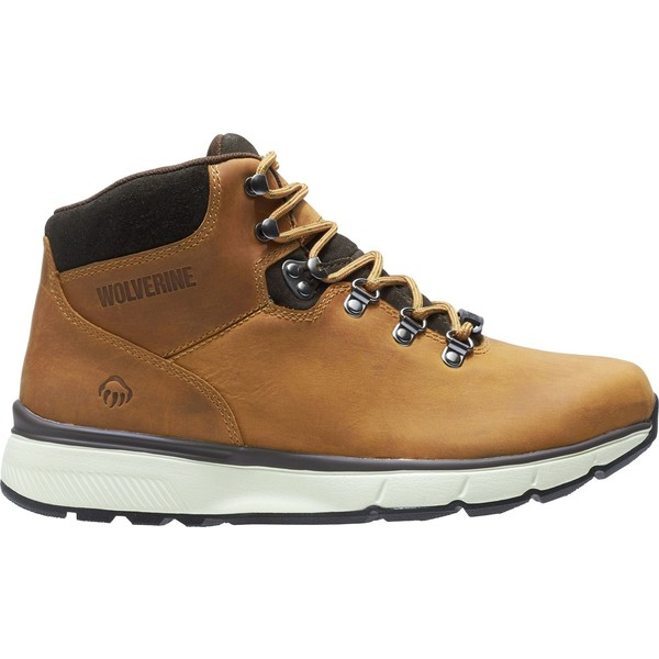 ウルヴァリン メンズ ブーツ&レインブーツ シューズ Wolverine Men's Bodi Waterproof Hiking Boots Tan