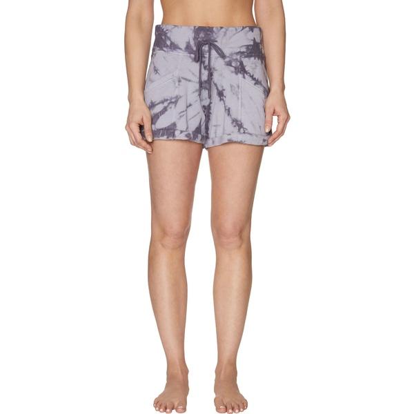 ベッツィジョンソン レディース カジュアルパンツ ボトムス Betsey Johnson Women's Tie Dye Hemmed Shorts Pavement