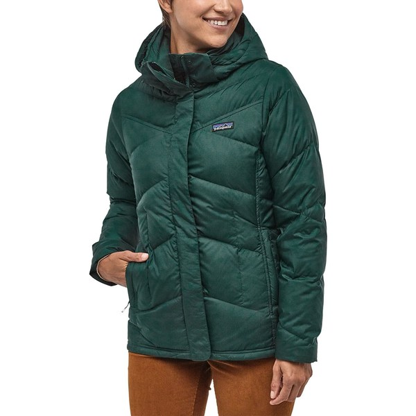 パタゴニア レディース ジャケット&ブルゾン アウター Patagonia Women's Down With It Jacket PikiGreen