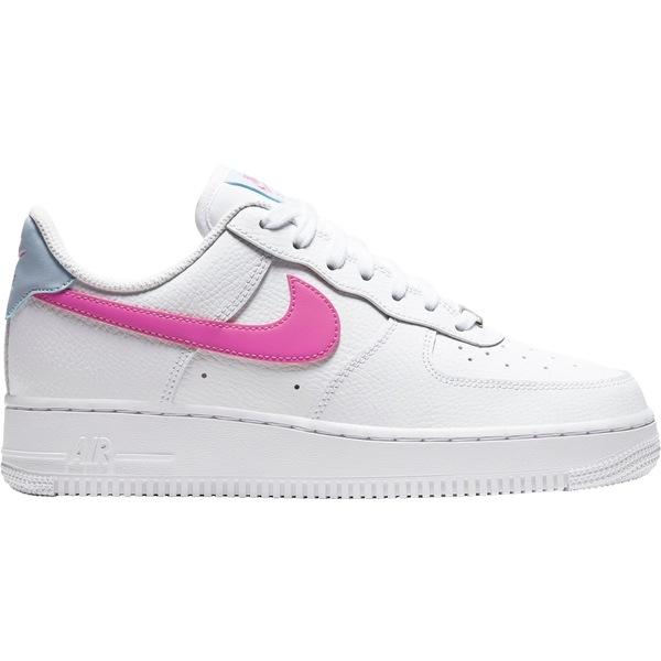 ナイキ レディース スニーカー シューズ Nike Women's Air Force 1 '07 Shoes Wht/FirePnk/HydrgnBlu
