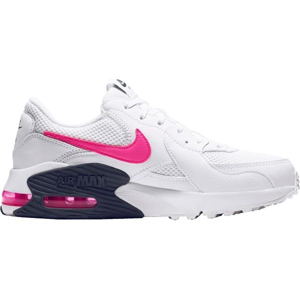 ナイキ レディース スニーカー シューズ Nike Women's Air Max Excee Shoes Wht/PnkBlast/MidnghtNvy