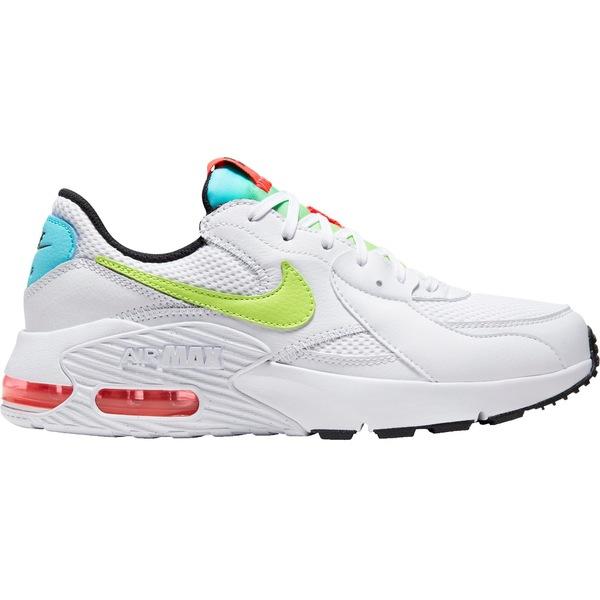 ナイキ レディース スニーカー シューズ Nike Women's Air Max Excee Shoes Wht/Vlt/LserCrim/ArraGrn