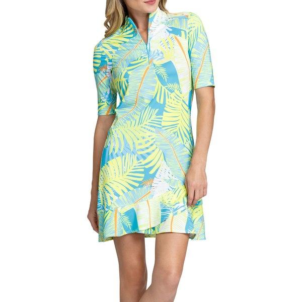 テイル レディース シャツ トップス Tail Women's Olivia Golf Dress Neotropical