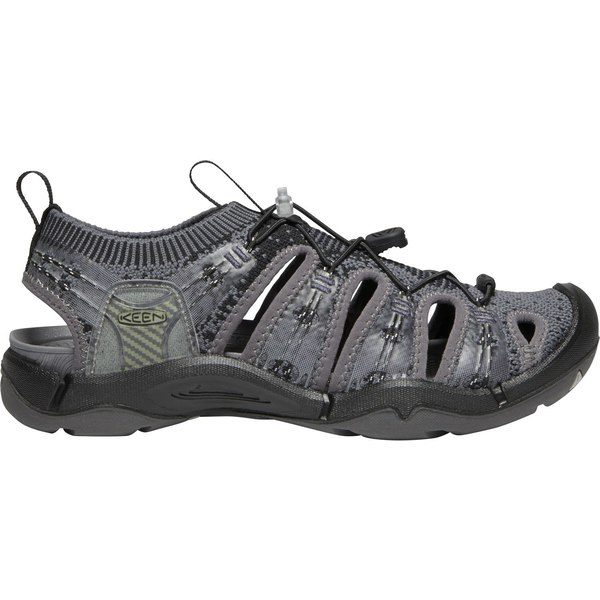 キーン レディース サンダル シューズ KEEN Women's EVOfit One Sandals HeatheredBlack