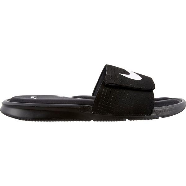 ナイキ メンズ サンダル シューズ Nike Men's Ultra Comfort Slides Black/White