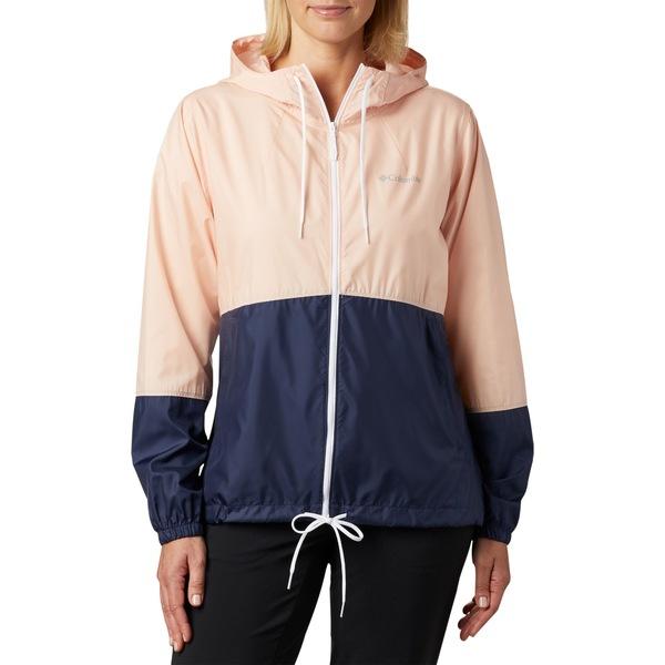 コロンビア レディース ジャケット&ブルゾン アウター Columbia Women's Flash Forward Windbreaker Jacket PeachCloud/Nocturnal