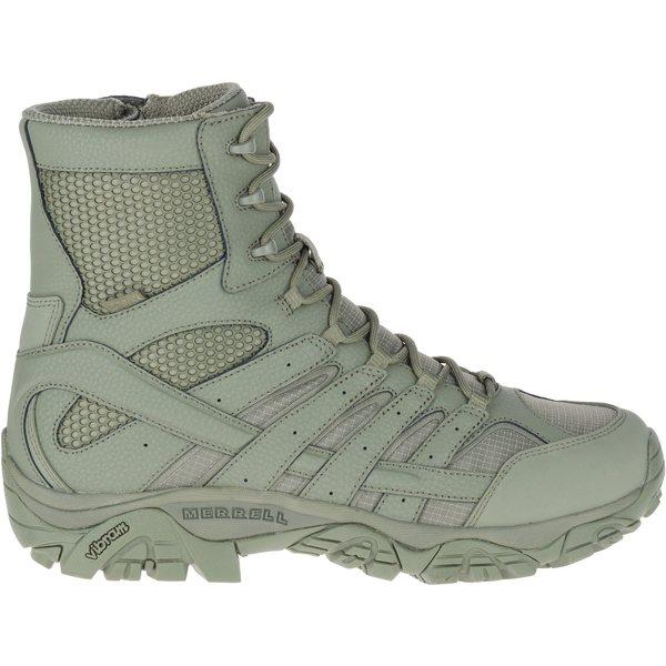 メレル メンズ ブーツ&レインブーツ シューズ Merrell Men's Moab 2 8'' Waterproof Tactical Boots SageGreen
