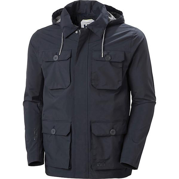 ヘリーハンセン メンズ ジャケット&ブルゾン アウター Helly Hansen Men's Kobe Field Jacket Navy