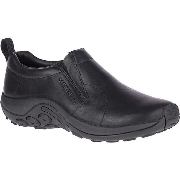 メレル メンズ スニーカー シューズ Merrell Men's Jungle Moc Leather 2 Shoe Black