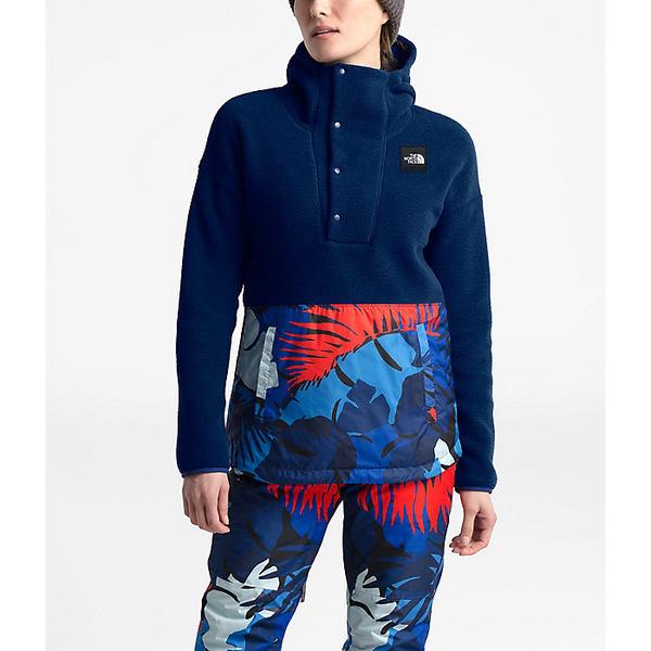 ノースフェイス レディース ジャケット&ブルゾン アウター The North Face Women's Riit Pullover Flag Blue / Flag Blue Palms Print