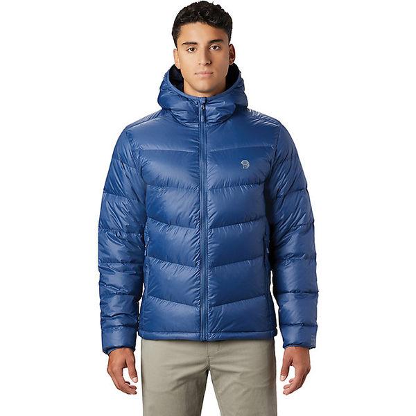 マウンテンハードウェア メンズ ジャケット&ブルゾン アウター Mountain Hardwear Men's Mt. Eyak Down Hoody Better Blue