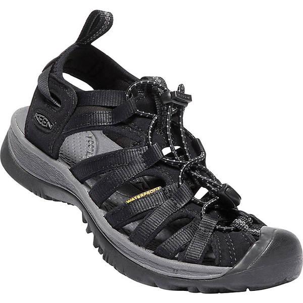 キーン レディース サンダル シューズ KEEN Women's Whisper Shoe Black / Magnet