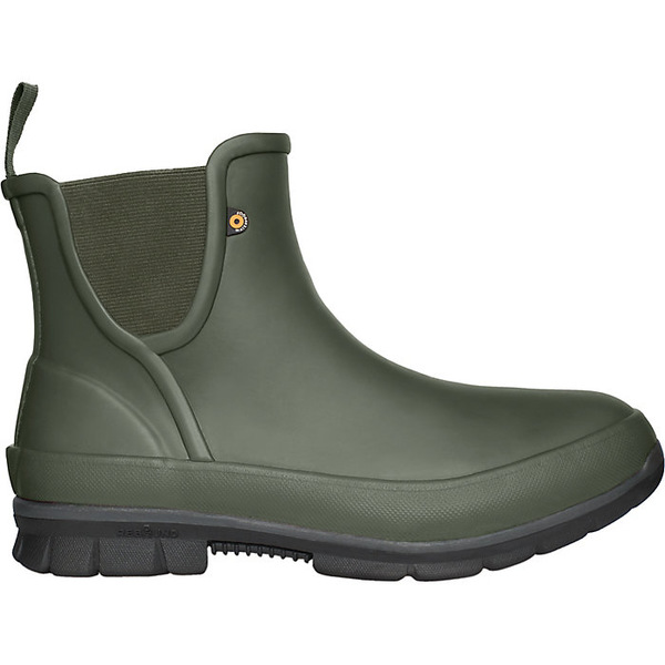 ボグス レディース ブーツ&レインブーツ シューズ Bogs Women's Amanda Plush Slip On Boot Dark Green
