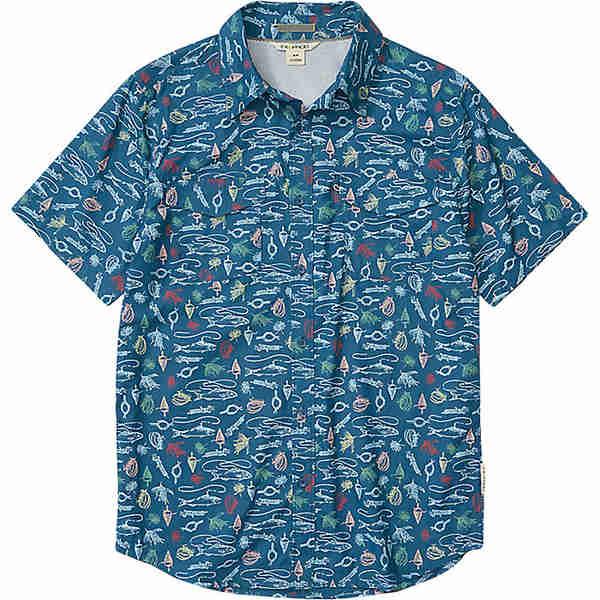 エクスオフィシオ メンズ シャツ トップス ExOfficio Men's Estacado SS Shirt Galaxy Gear