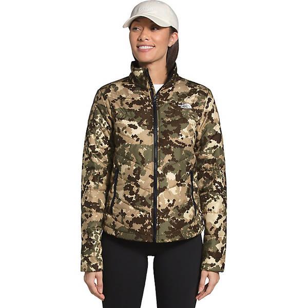ノースフェイス レディース ジャケット&ブルゾン アウター The North Face Women's Tamburello 2 Jacket Burnt Olive Green Digi Topo Print