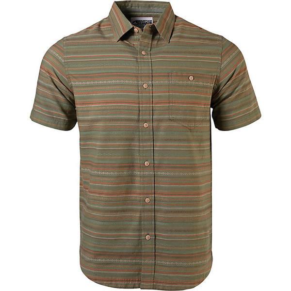 マウンテンカーキス メンズ シャツ トップス Mountain Khakis Men's Horizon SS Shirt Olive