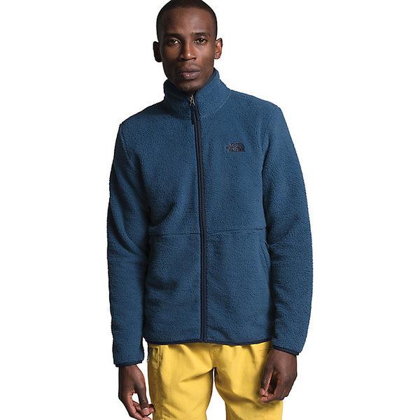 ノースフェイス メンズ ジャケット&ブルゾン アウター The North Face Men's Dunraven Sherpa Full Zip Jacket Shady Blue