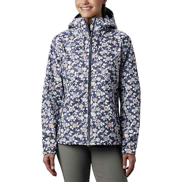 コロンビア レディース ジャケット&ブルゾン アウター Columbia Women's Big Sandy Creek Jacket Nocturnal Ikat Floral Print