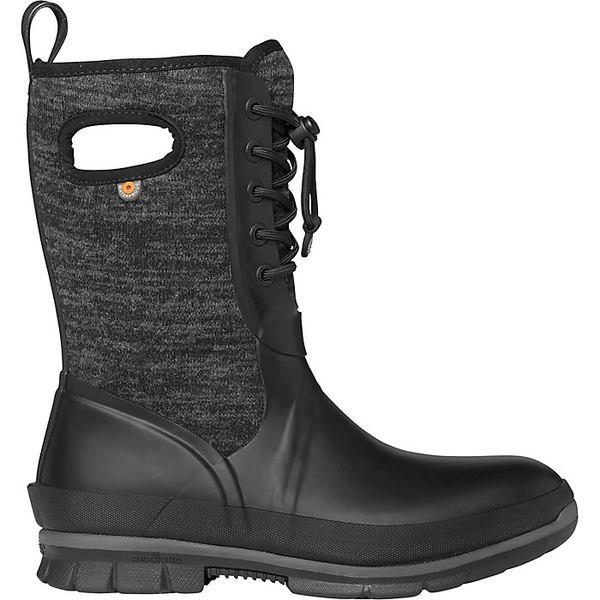ボグス レディース ブーツ&レインブーツ シューズ Bogs Women's Crandall Lace Knit Boot Black Multi