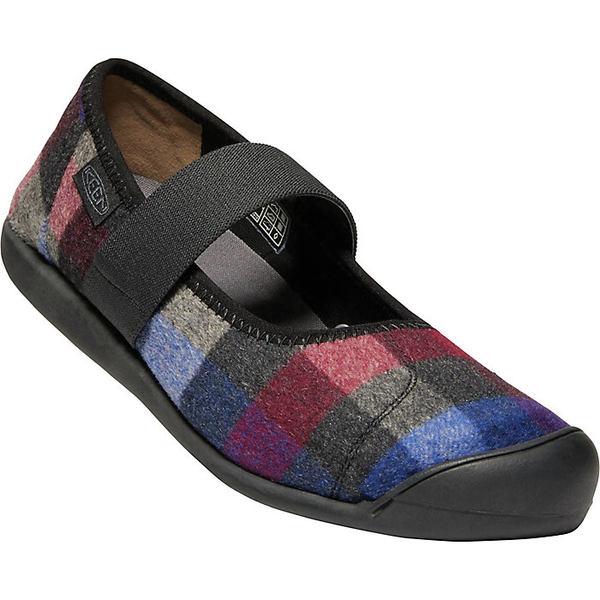 キーン レディース ブーツ&レインブーツ シューズ Keen Women's Sienna MJ Plaid Shoe Multi / Black